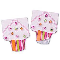 Cupcake Gem Notepads