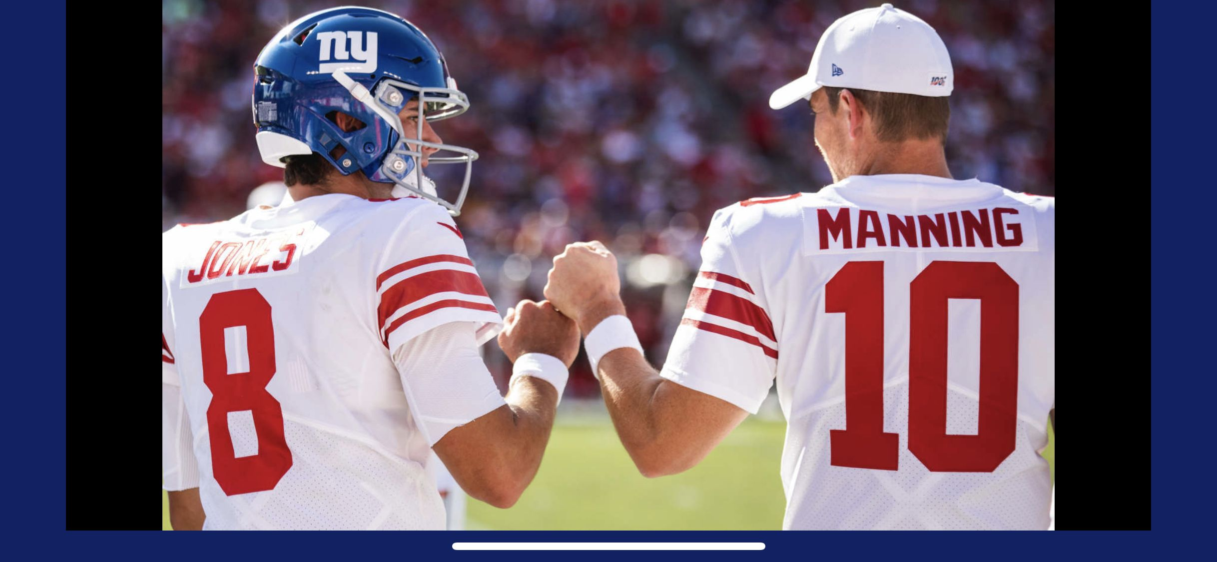 Eli & Daniel in 2020 New york giants, Ny giants, Sports
