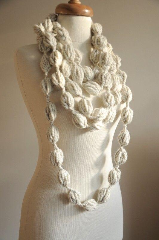 unusual scarf   pulseras, collares...   Pinterest   Las manos ...