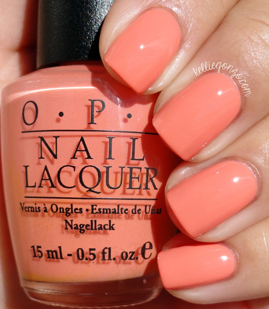 Opi Peaches N Cream Amazing Nail Art