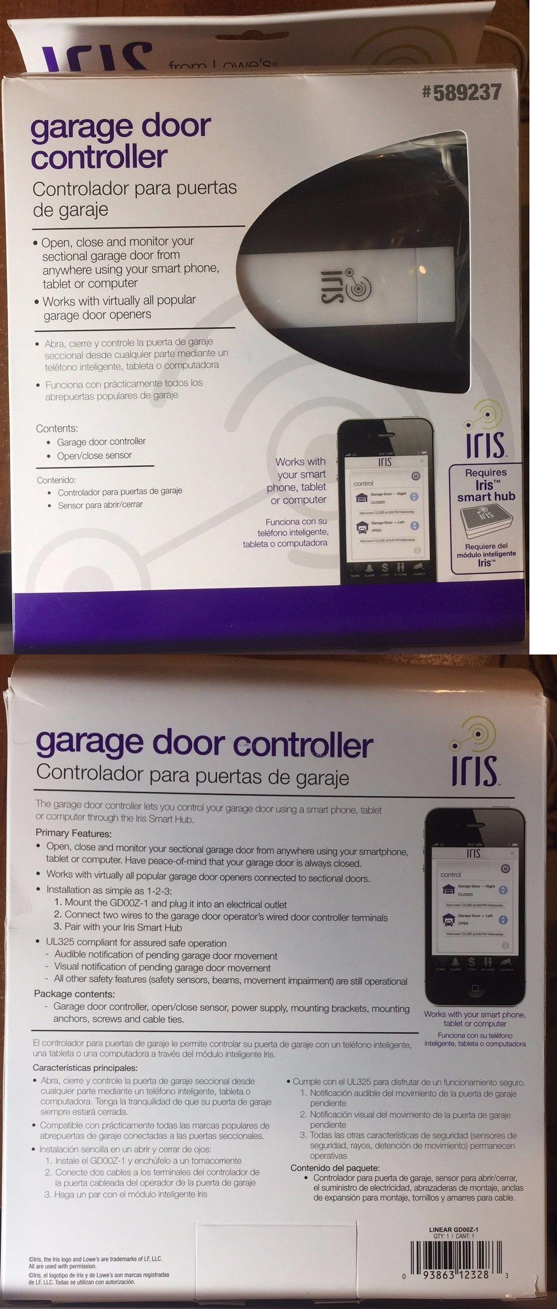 Garage Door Remotes 85899 New Iris Z Wave Garage Door Controller