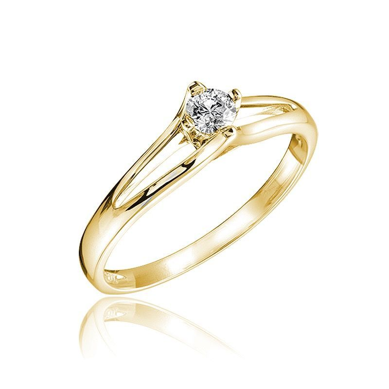 Buy Yellow Gold Diamond Ring Online In Canada Engagement Wedding