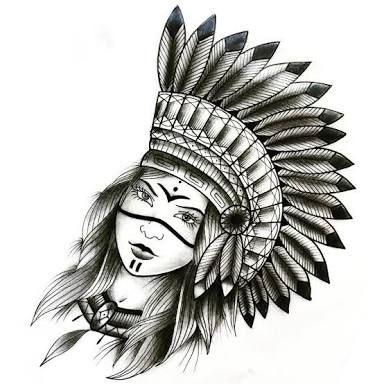 Resultado De Imagem Para Desenho India Pra Tatuar Desenho Tattoo
