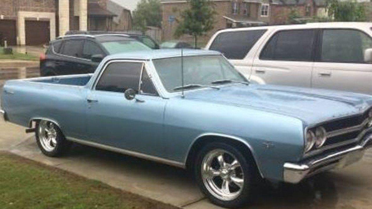 1965 Chevrolet El Camino For Sale Near Las Vegas Nevada 89119