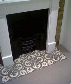 Decorative Hearth Tiles The Reclaimed Tile Company