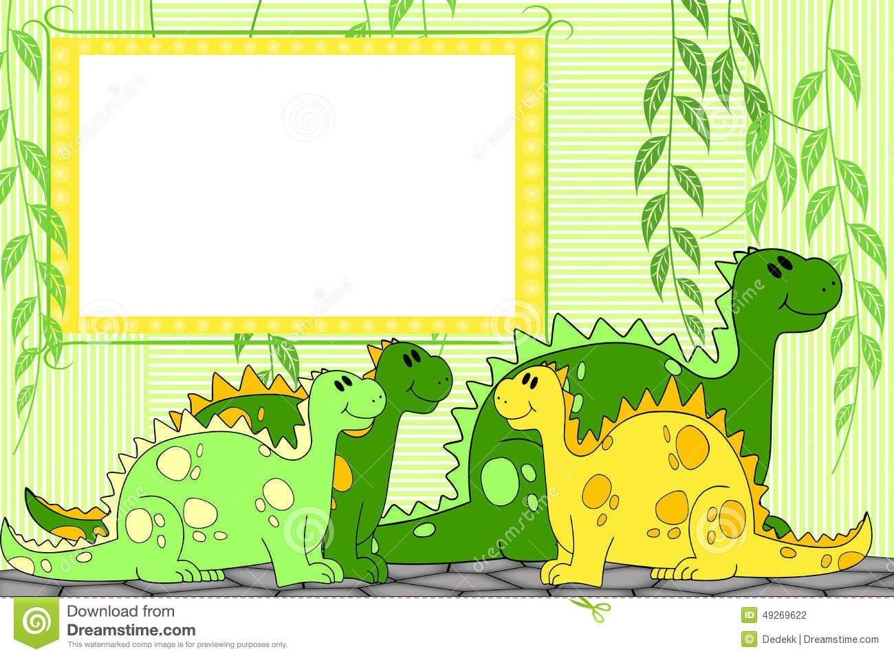 marcos de dinosaurios | Marcos para fotos: Marcos para fotos de ...