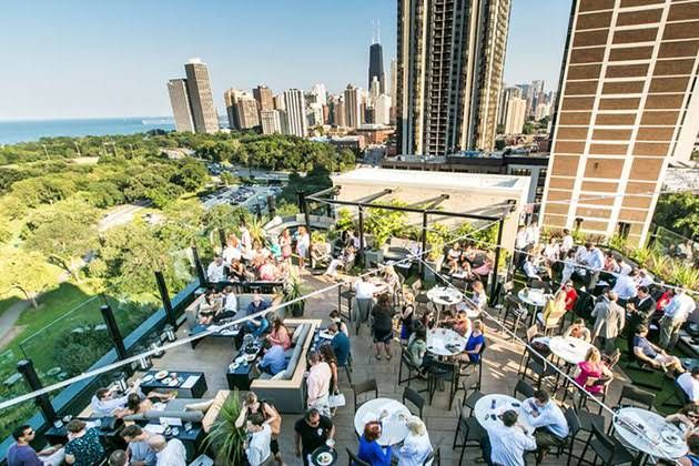 The Best Chicago Wedding Venues With A View Best Rooftop Bars Chicago Wedding Venues Rooftop Bar