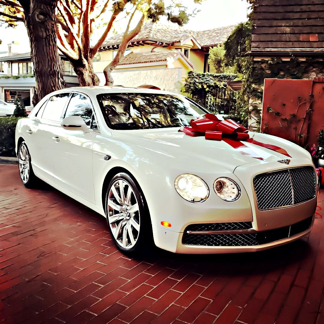 The Osbournes New Bentley Flying Spur: Bentley Mulsanne.......