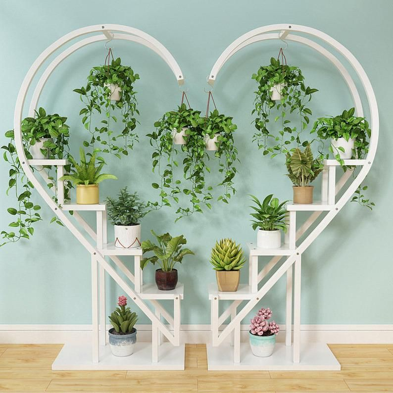 Living Room Home Decoration Wood Plant Stand Wrought Iron 5 Etsy In 2020 Plant Stand Indoor Plant Stand Wood Plant Stand #plant #stand #for #living #room