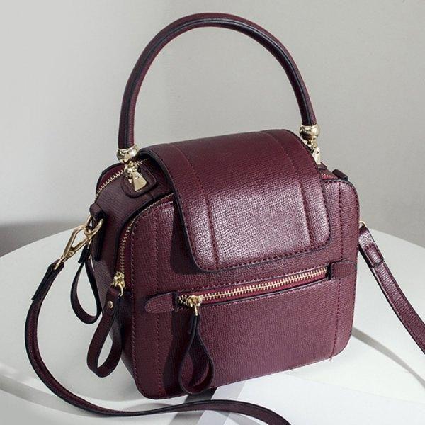 50bb9cd562 AdoreWe - Rosewholesale Faux Leather Handbag - AdoreWe.com