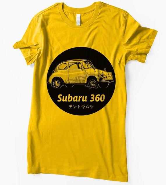 Subaru T-Shirt 360 Ladybug Japanese Classic car JDM vintage retro shirt   – Men …