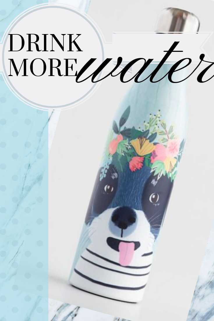 e3f6480ec7 This fun dog drink more water bottle is the perfect gift for the dog or  puppy lover and health nut in your life. Use this funny bottle for fitness  ...