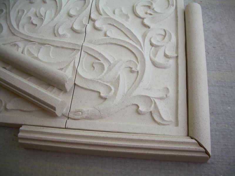 Hand Pressed Frames Tiles For Kitchen Backsplash Bath Stone Insert And Fireplaces Kitchen Tiles Kitchen Backsplash Kitchen Tile Mural