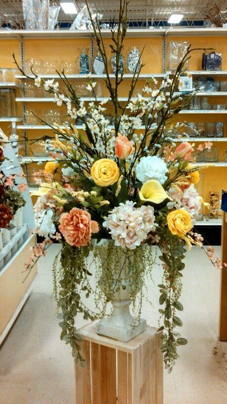 Spring 2014 Floral Centerpiece Large Urn Arrangement Michaels