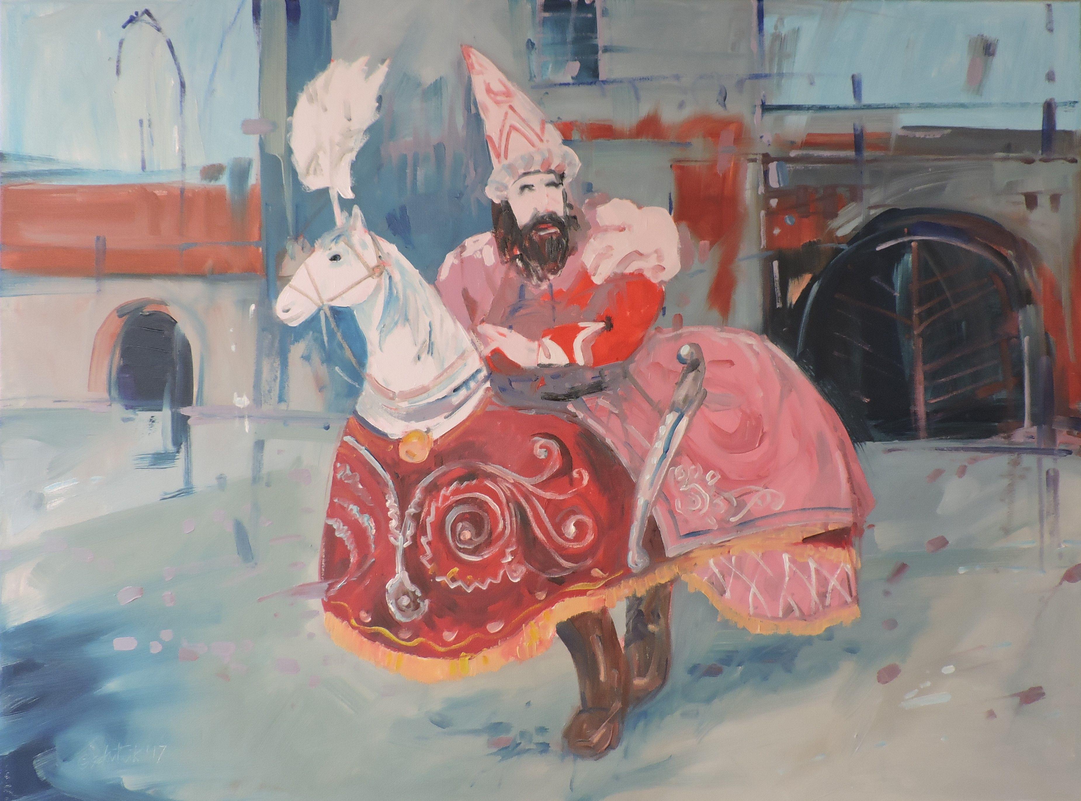 Medium, Original, Impressionist, Painting, Oil on Canvas,