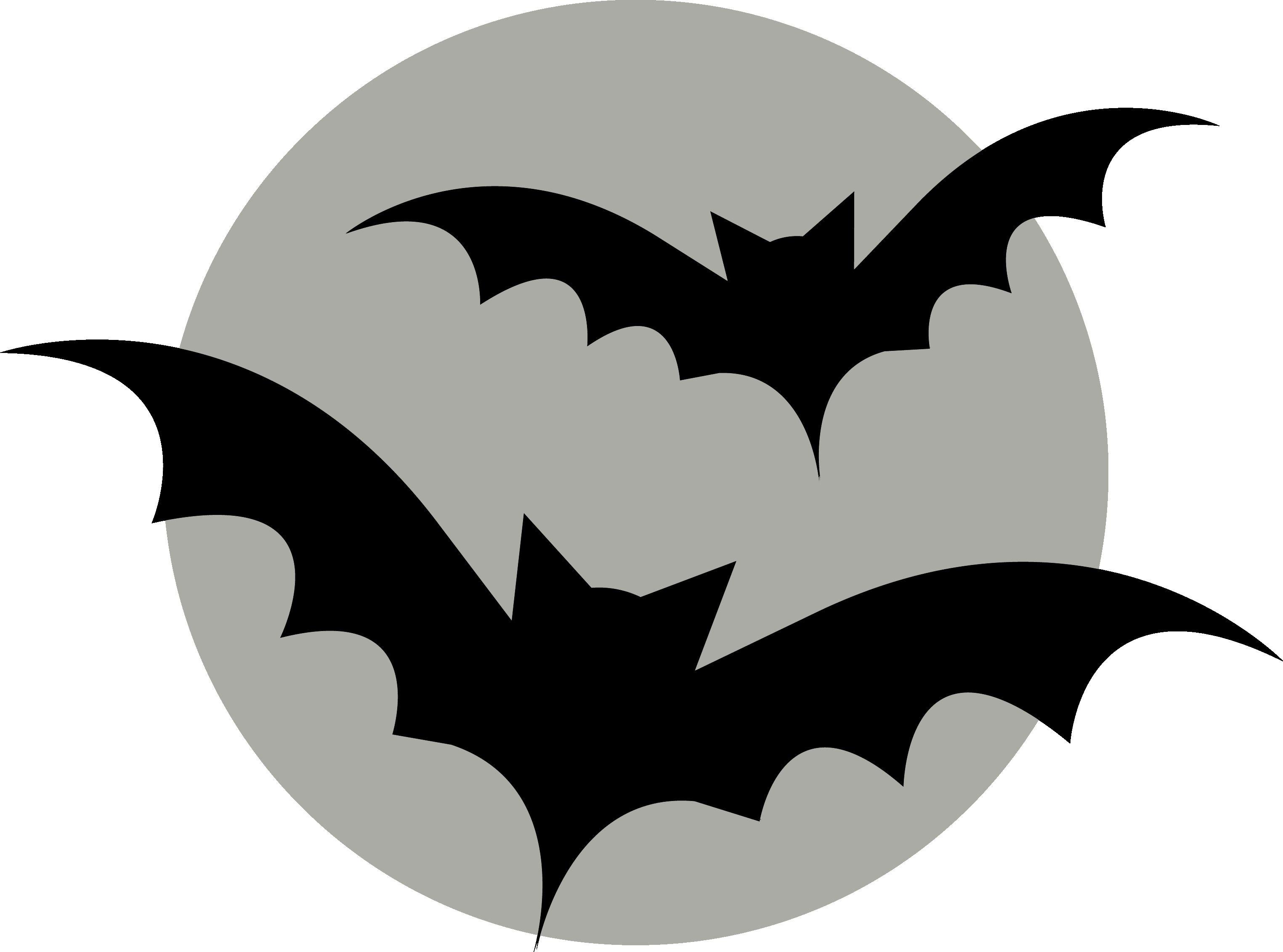 Bats Flying on Moon - Pumpkin Template | Halloween | Pinterest | Bat ...