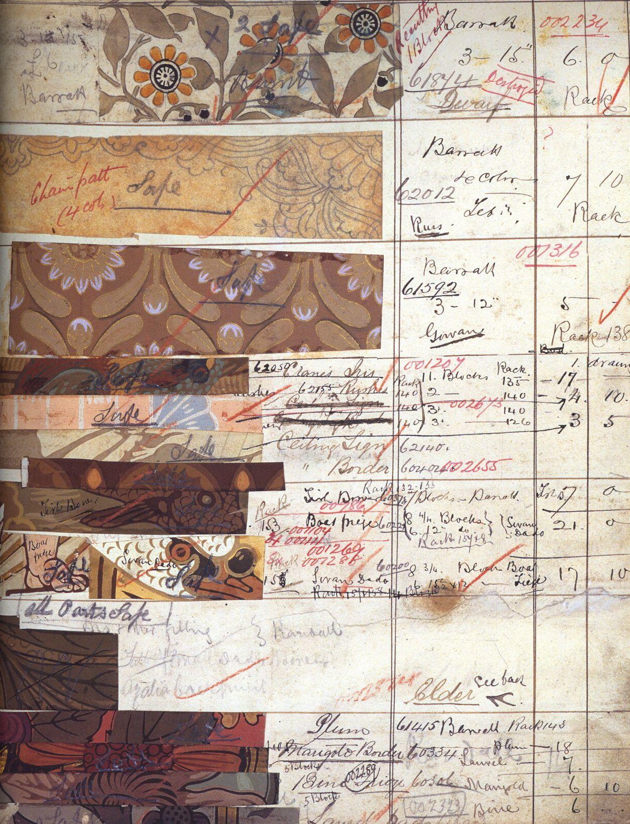 "robert-hadley: "" Photo - venetianred.files. William Morris Co. Wallpaper designs c. 1860s """