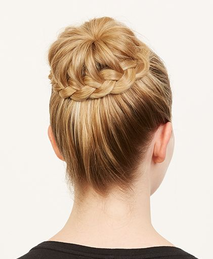 How To Do A Braided Ballerina Bun The Cool Girl Way Makeup Com By L Oreal Dance Competition Hair Competition Hair Ballet Hairstyles