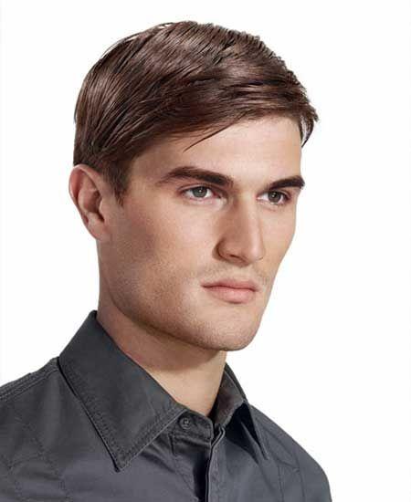 cortes de pelo para hombre raya a un lado