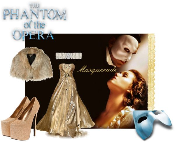 """The Phantom of the Opera"" by tbarnes63 ❤ liked on Polyvore"
