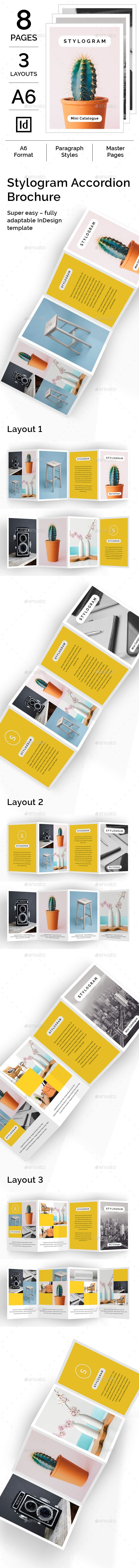 Stylogram Accordion Brochure | Folletos
