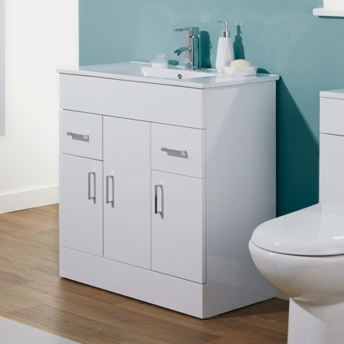 Pin On Vanity Units Bathroom modern vanity units milano