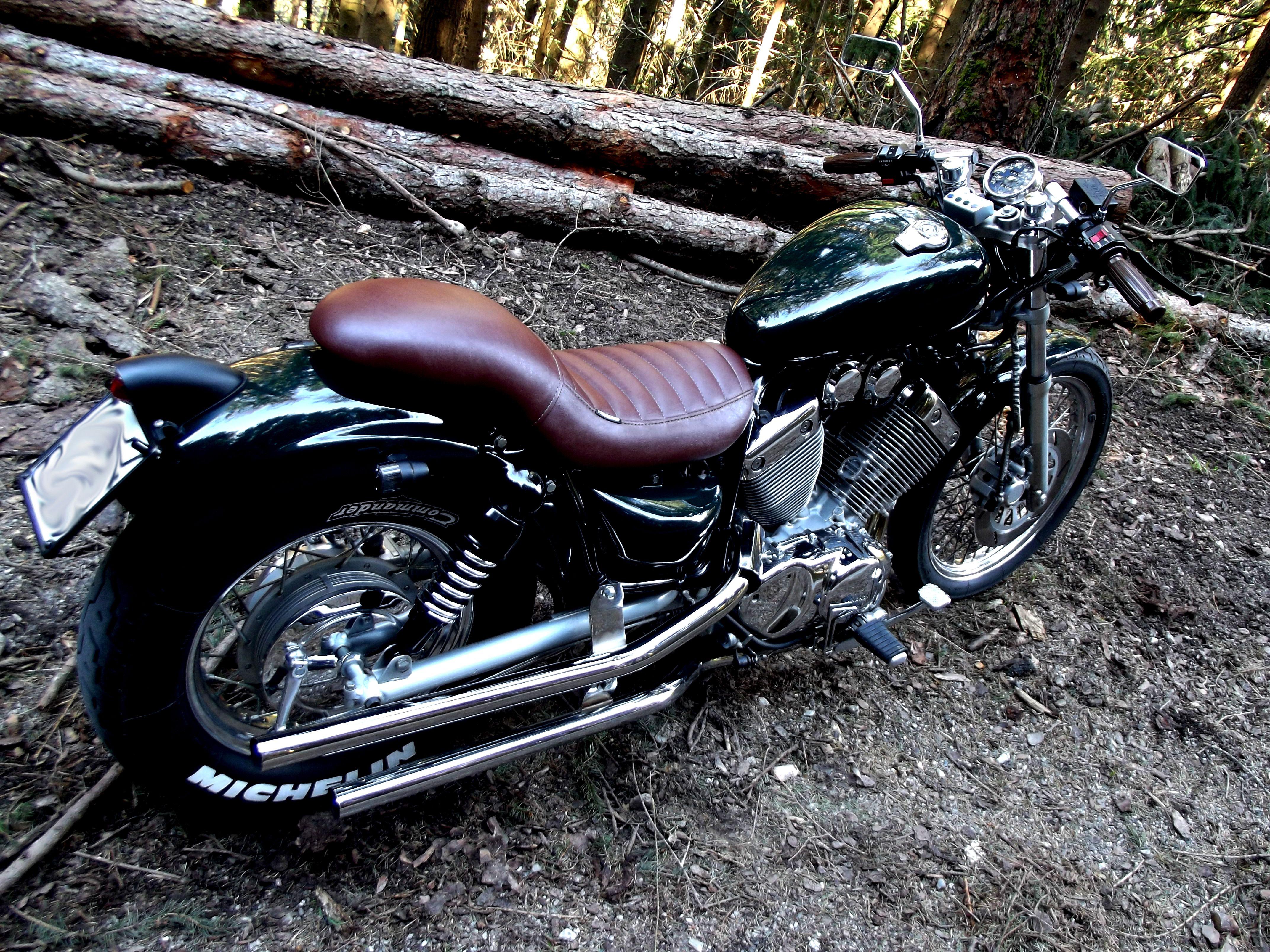 Yamaha Virago Xv 535 Yamaha Virago Virago Bobber Yamaha
