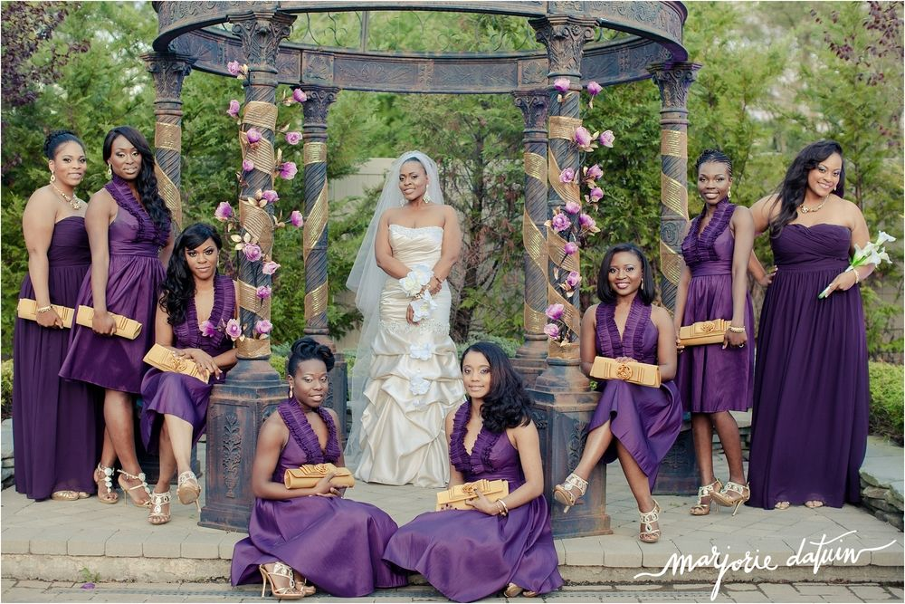 purple and gold wedding theme - Google Search   African and African ...