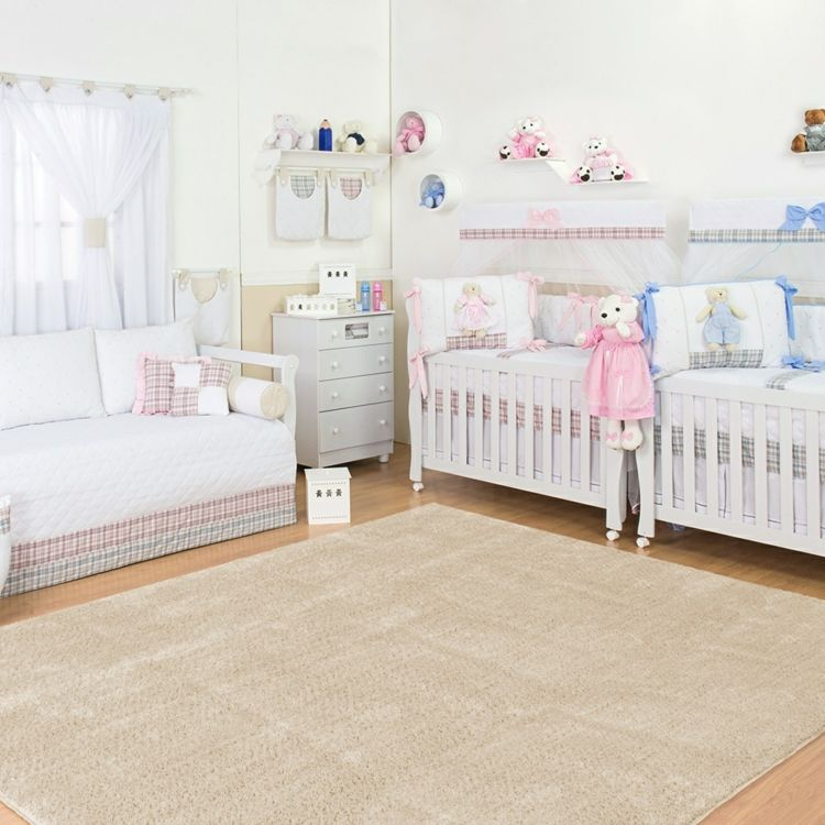 Babyzimmer für ein Zwillingspaar in zwei Farben dekorieren - babyzimmer fr jungs