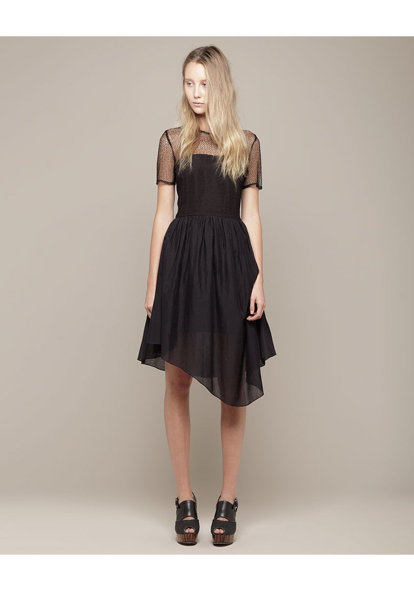 Proenza Schouler Mesh Top Dress Mesh Top Dress Fashion Classy Outfits [ 1158 x 811 Pixel ]