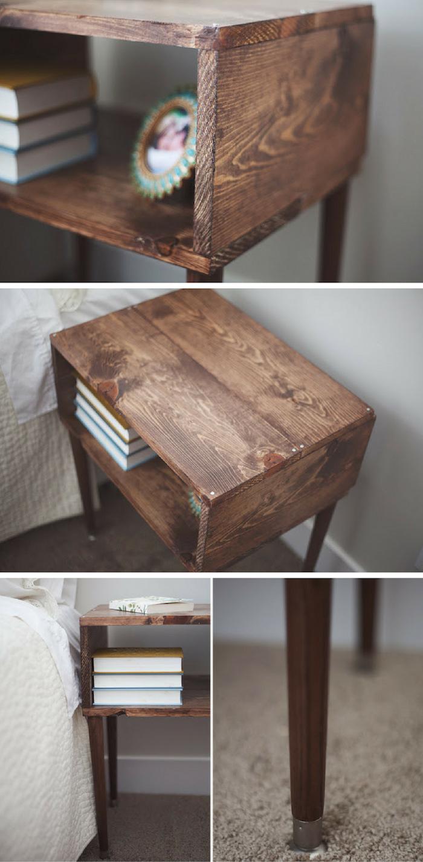 100 Remarquable Idées Fabriquer Une Table De Chevet Avec Des Livres