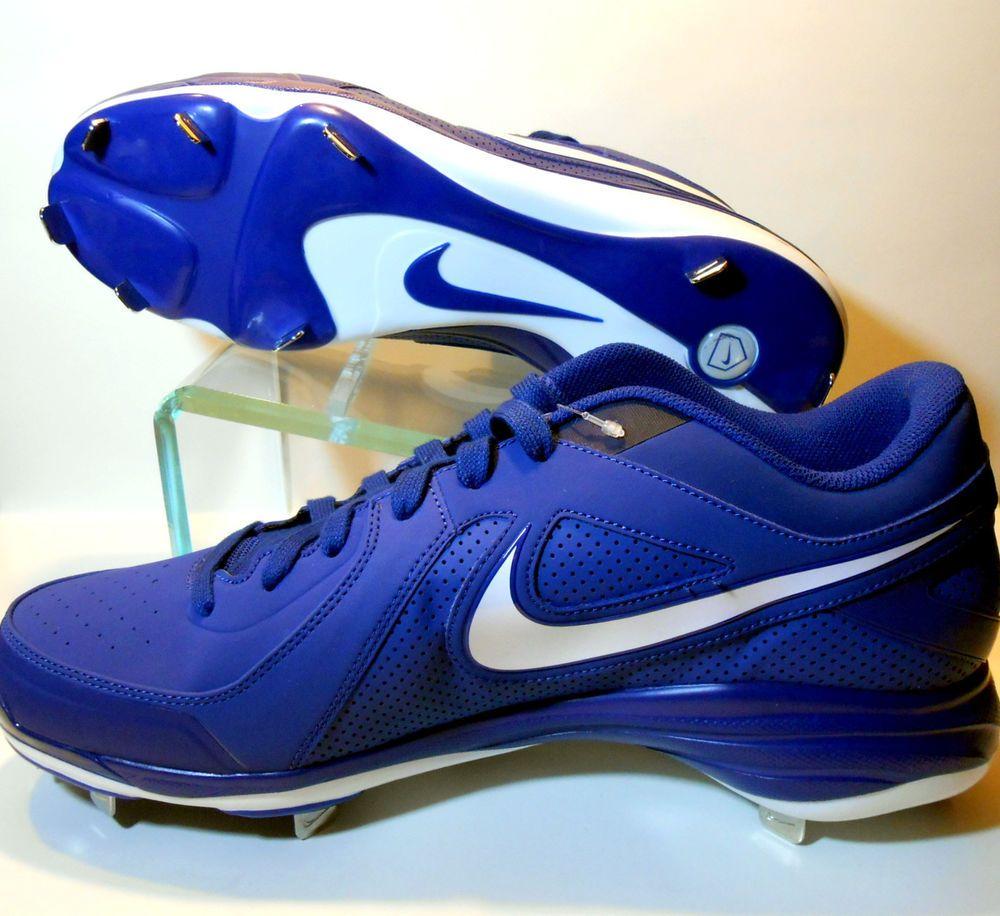 White Size 14 M New Mens Nike Air MVP Pro Metal 2 Baseball Cleats Black