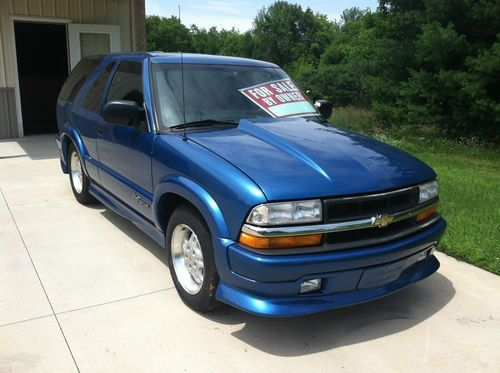 Purchase Used 2001 Chevy S10 Xtreme Blazer V8 Ls 5 3l In Cedar Springs Michigan United States En 2020 Autos Y Motos Autos Motos