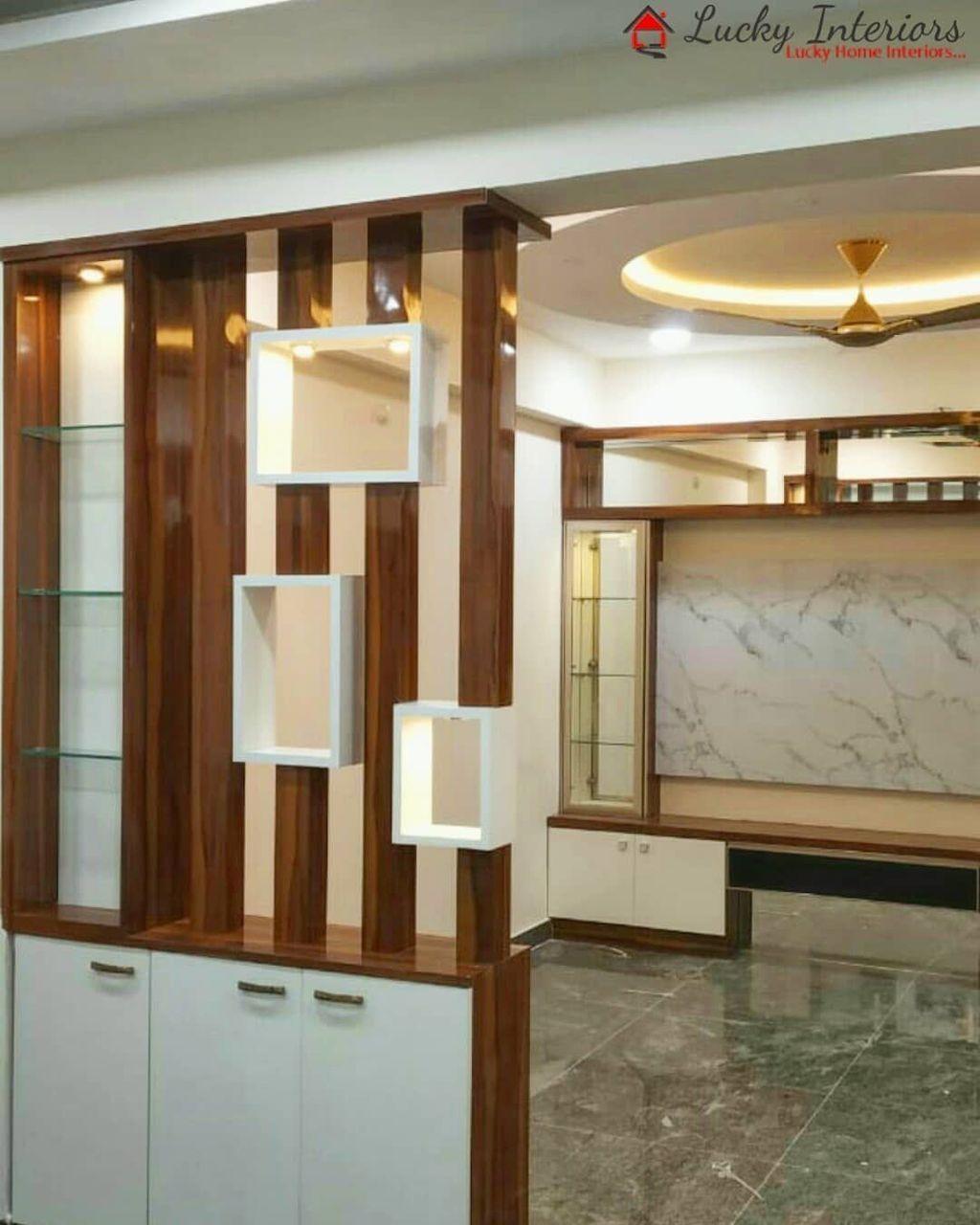 30 Affordable Glass Partition Living Room Design Ideas To Try In 2020 Living Room Partition Design Wall Partition Design Living Room Partition