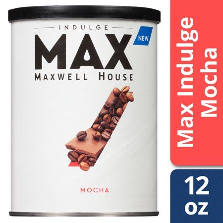 Max Indulge By Maxwell House Mocha Coffee Drink Mix