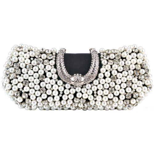 MG Collection Black Pearl Beads Rhinestone Encrusted Clutch Evening Purse MG Collection http://www.amazon.com/dp/B009R77VE0/ref=cm_sw_r_pi_dp_hwM5ub17C736C
