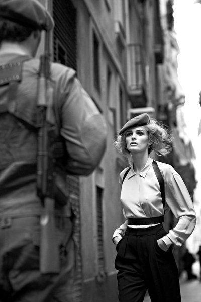 ru_glamour: Edita Vilkeviciute by Nathaniel Goldberg for V Spain #16