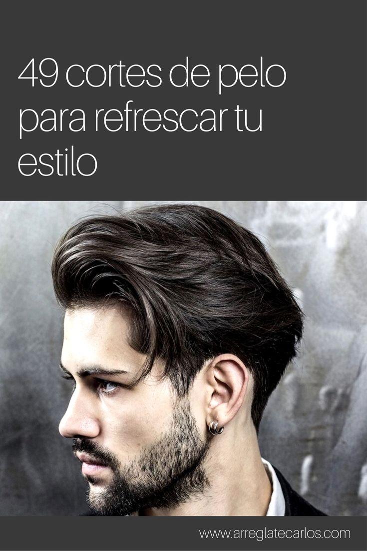 Cortes de pelo para hombres largo medio
