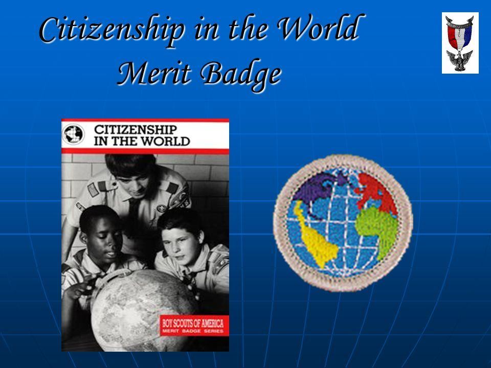 Best Free Fillable Forms Citizenship In The World Merit Badge Book