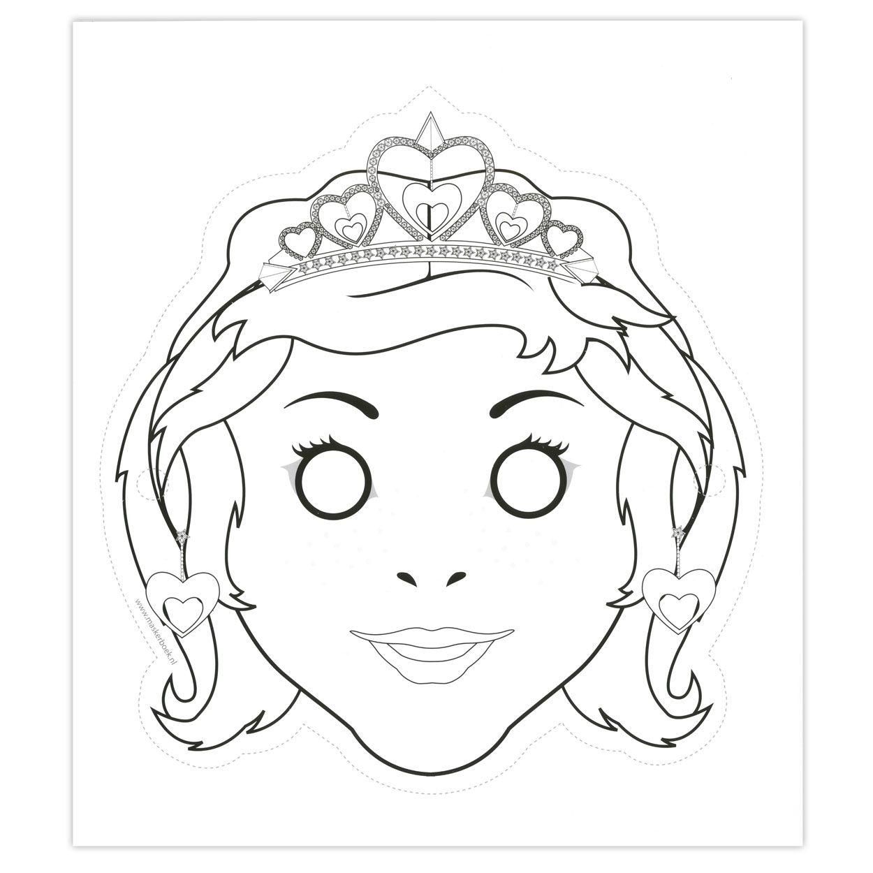 knutselen maskers lobbes zoeken prinses