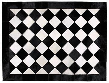 Sky Rugs Patterned Steerhide Rugs Geometric Rug Painted Rug White Cowhide Rug
