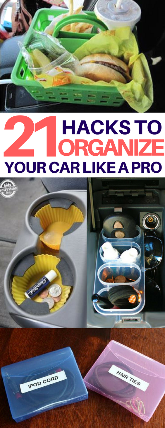 Car Organization Hacks Youll Actually Want To Try Cleaning - 14 brilliant cleaning hacks that will change the way you clean your home