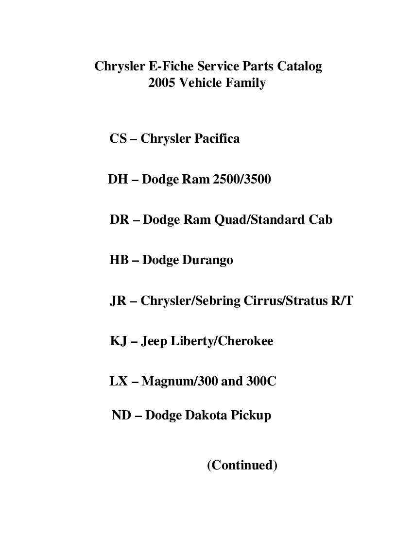 Idakotaex2005 Parts Manual Pdf Download Repair Manuals Pdf Download Manual