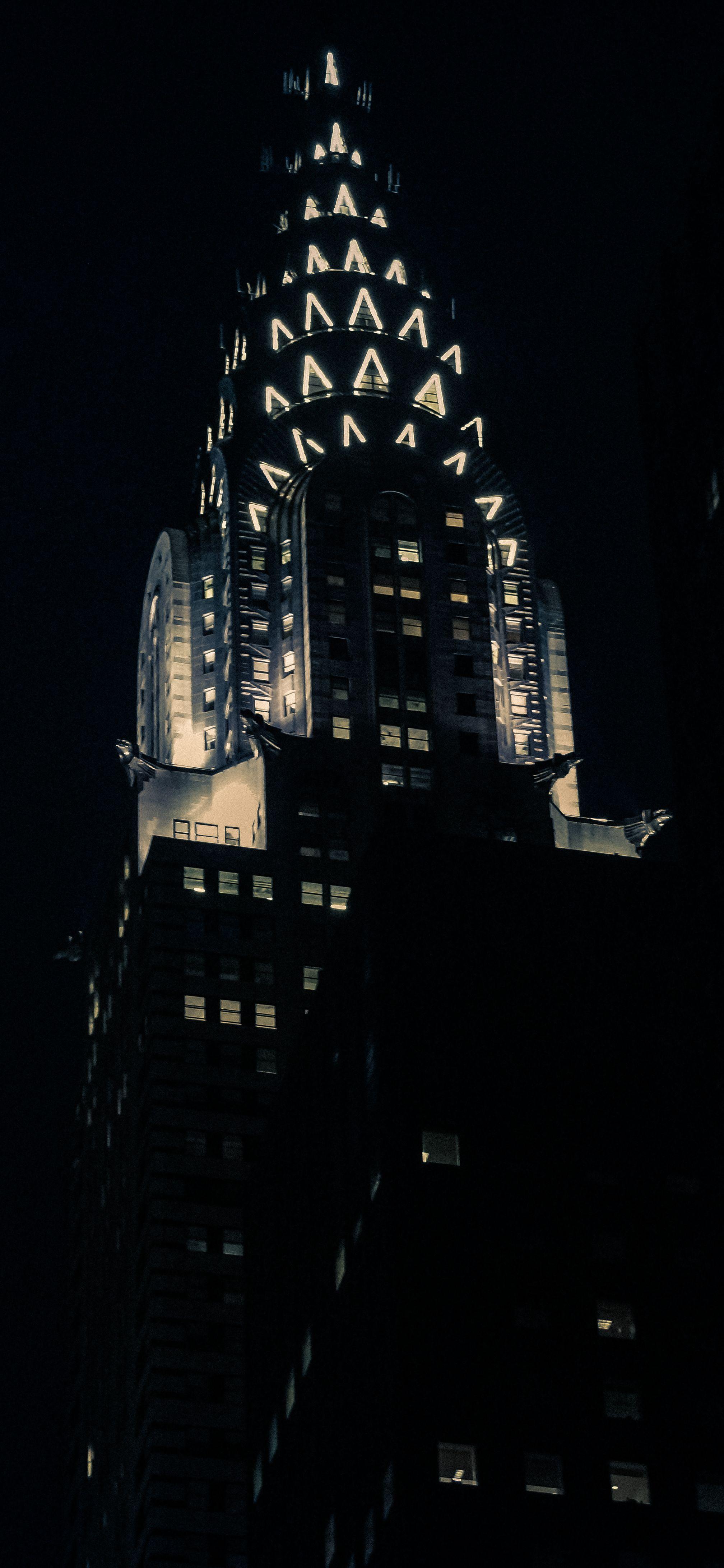 Jeffrey Zeldman Chrysler Building New York Night Nyc At Night