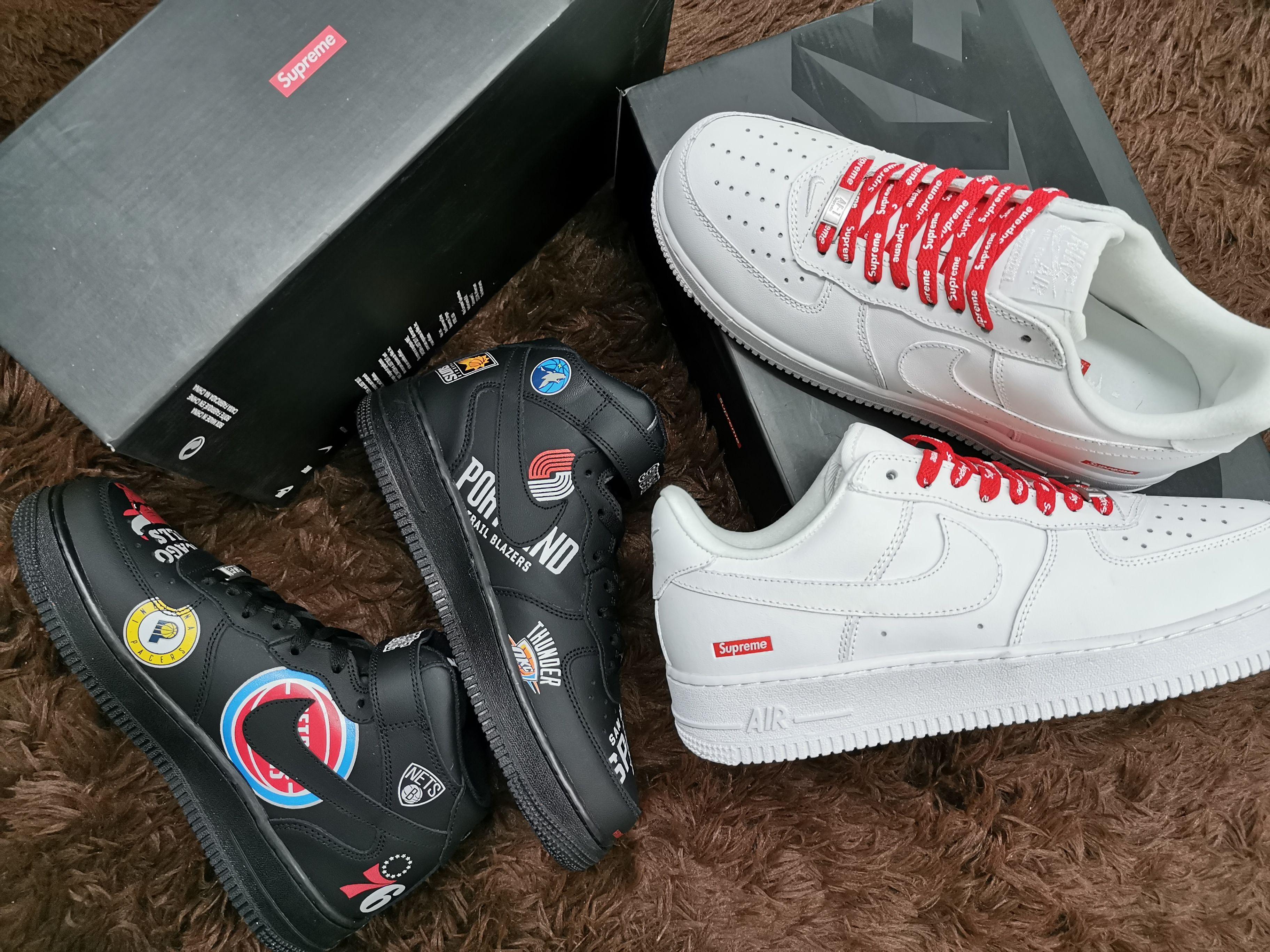monte Vesubio Kakadu equipaje  Nike Air Force 1 MIN'07 / SUPREME für Männer Der Preis beträgt 90 US-Dollar.  in 2020 | Nike air force, Nike air, Nike