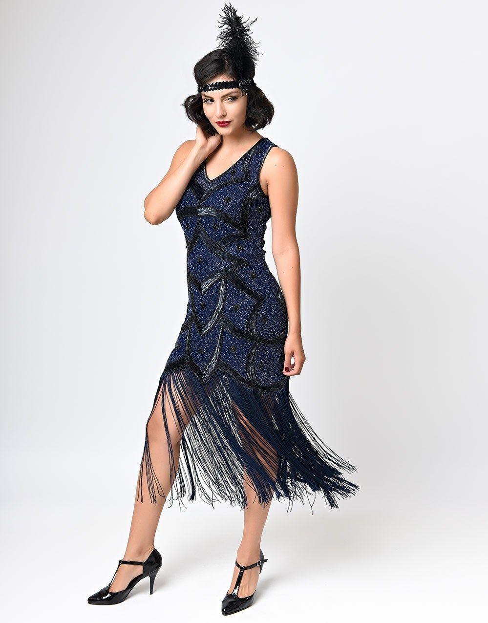 1920s-outfit-17.jpg (999×1275) | Fringe flapper dress, Flapper ...