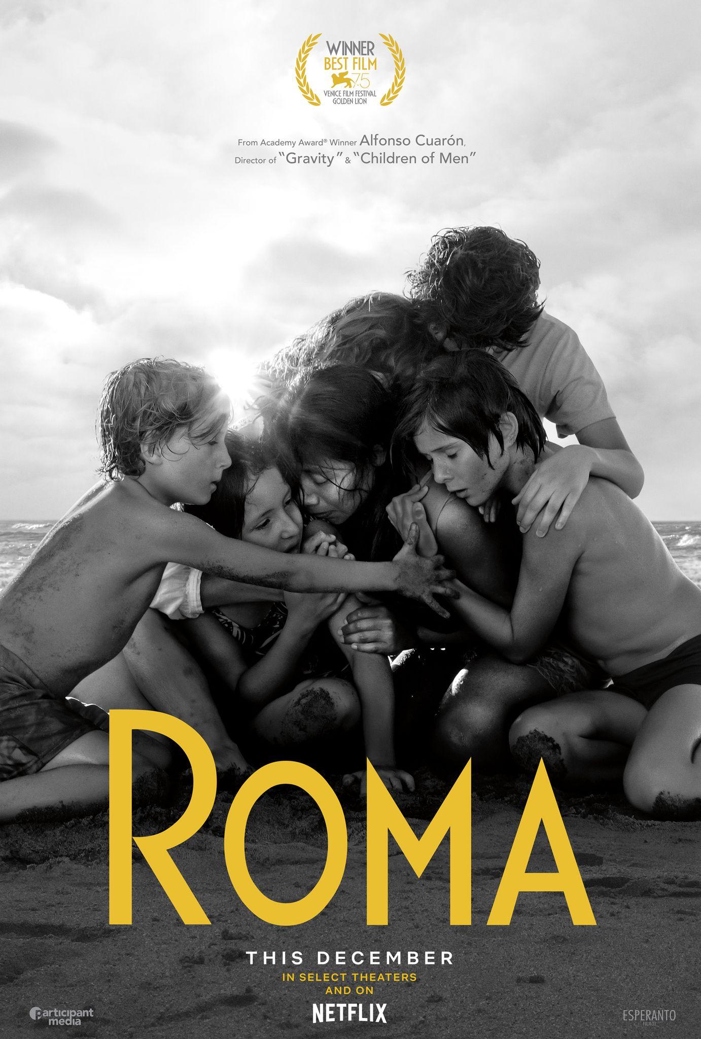 羅馬|Roma|#135min/2018 |#AlfonsoCuarón #YalitzaAparicio #MarinadeTavira  #DiegoCortina Autrey |#Drama #Mexico | USA #Movie #Poster
