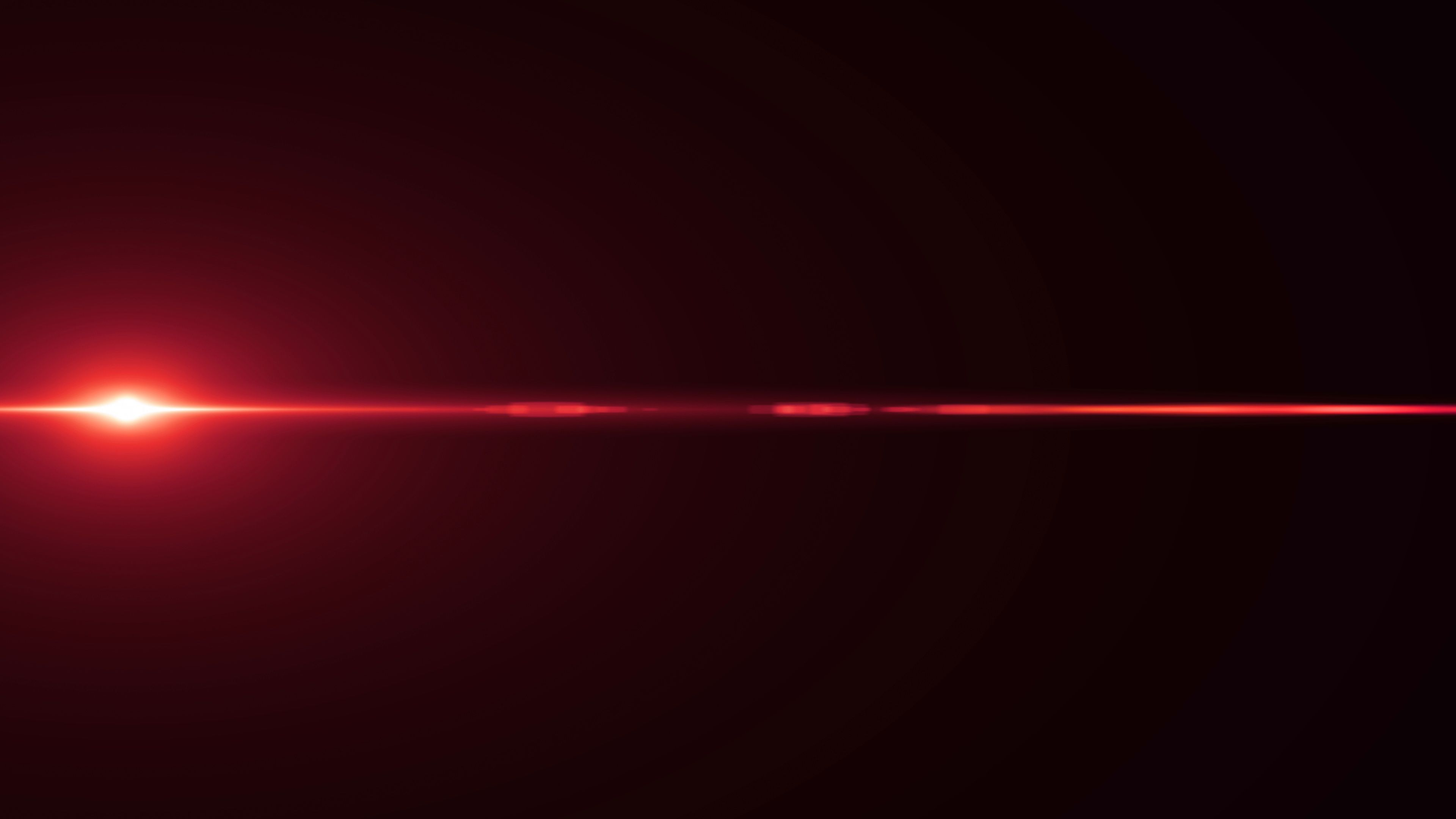 Horizontal Laser Red Sun Moving Lights Optical Lens Flares Overlay Shiny Stock Footage Sun Moving Lights Horizontal Red Sun Lens Flare Optical Lens