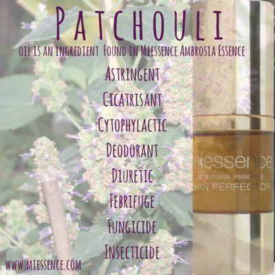 #Miessence #CertifiedOrganic Ambrosia Essence Skin Perfector  #Patchouli
