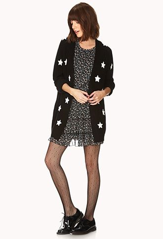 Starry Night Cardigan | FOREVER 21 - 2000111839